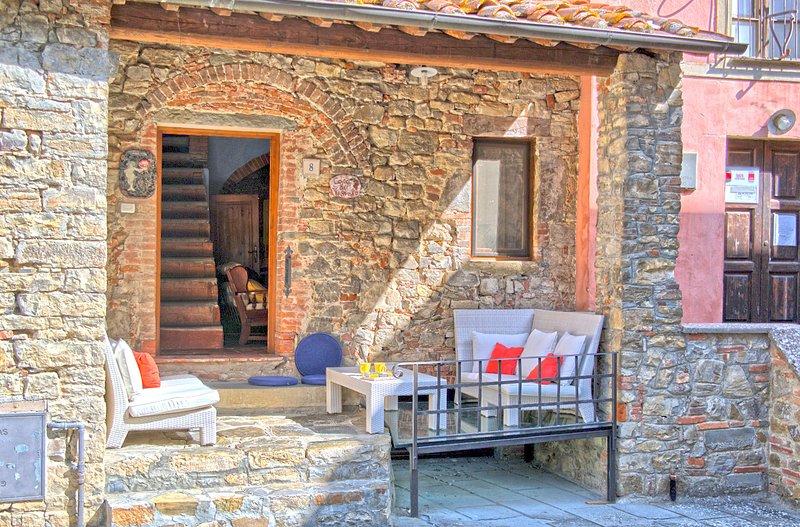 Casa Di Vignolo, alquiler de vacaciones en Pergine Valdarno