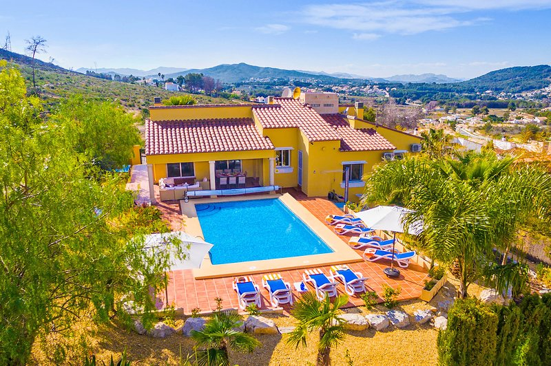 Luxury Villa Magdalena, holiday rental in Javea