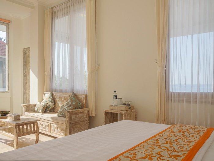 DeLux Tweepersoonskamer in een compound aan het strand met 11 slaapkamers