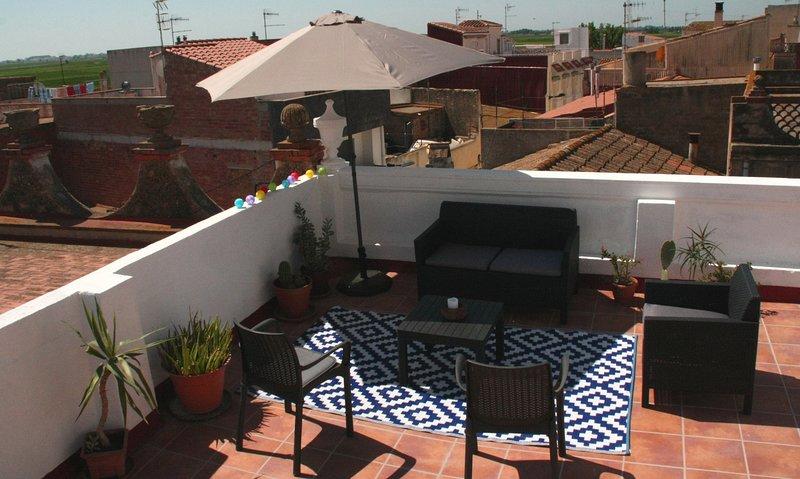 Lo Balcó- Casa con encanto en el Delta del Ebro., aluguéis de temporada em Amposta