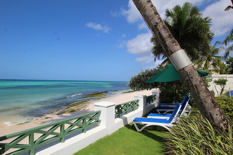 Enjoy the amazing ocean views from the comfort of the complimentary sun loungers