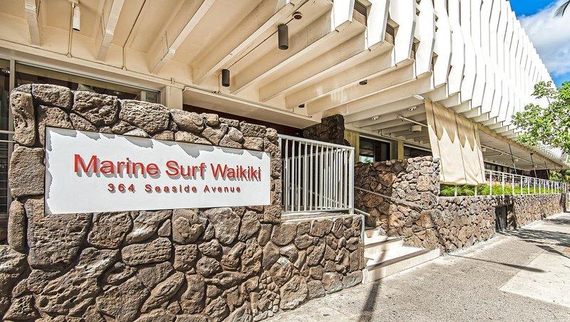 Marine Surf Waikiki 1605 - Marine Surf Waikiki Willkommensschild