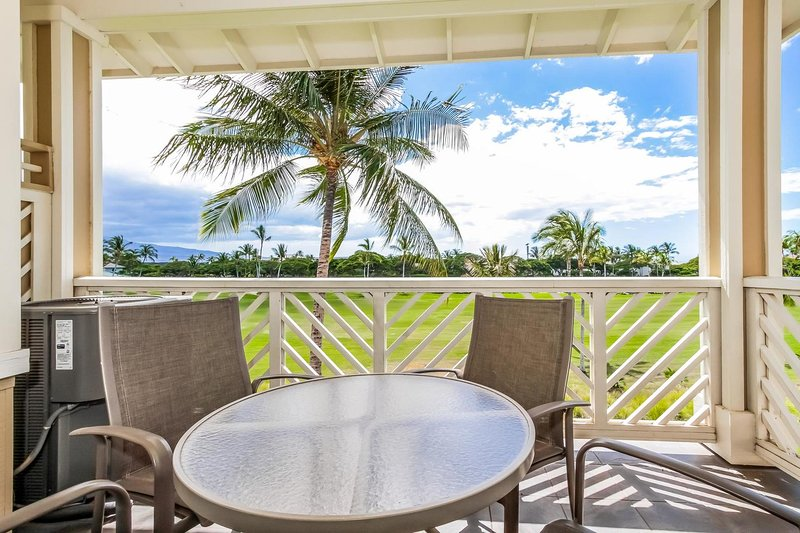 Fairway Villas I33 e I34 en el Waikoloa Beach Resort - I33 Lanai Patio Furniture