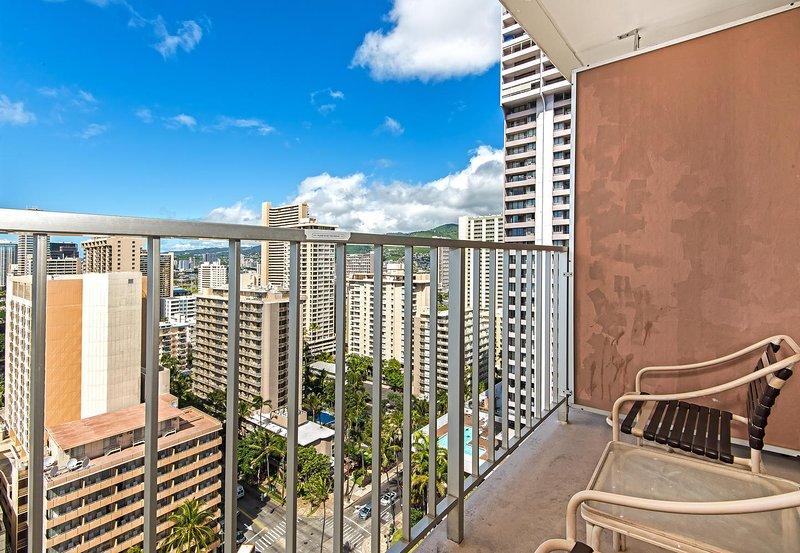 Marine Surf Waikiki 2108 - Surf Marine Waikiki 2108 balcón