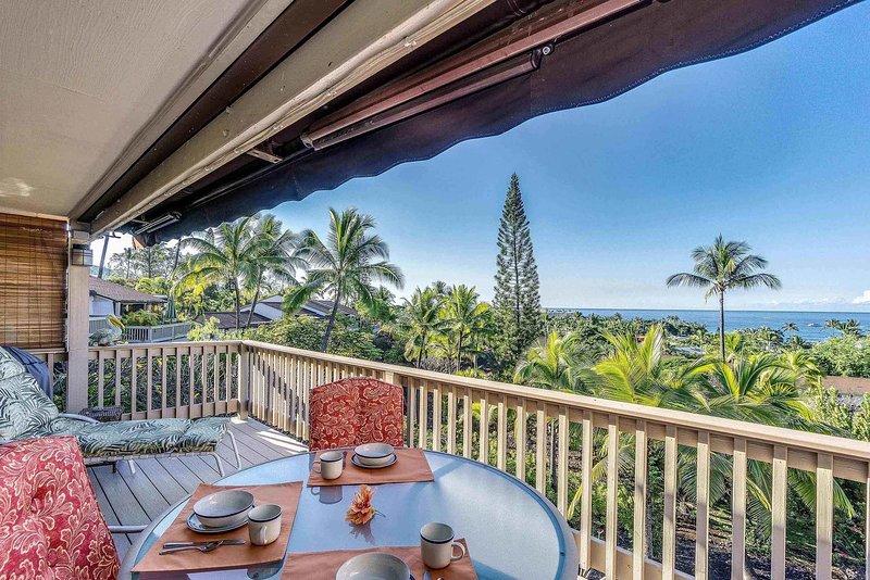Keauhou Resort # 118 - Ocean View Lanai