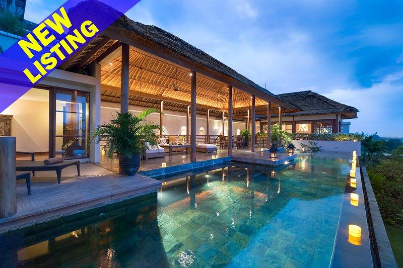 Stunning 6 Bedroom Villa Ocean View in Jimbaran;, holiday rental in Jimbaran