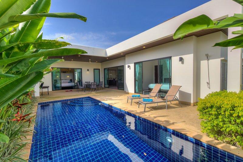 Villa privata con due camere da letto e piscina privata