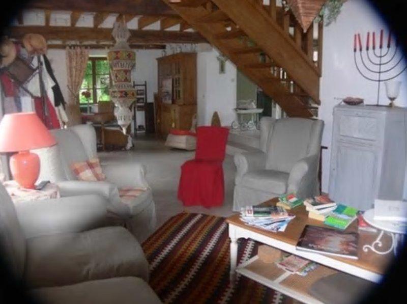 Chambre d'hôte de charme dans le Val de Loire, location de vacances à Cellettes