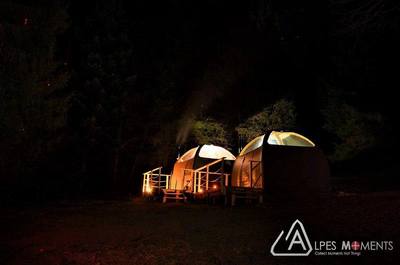 Eco Bivouac Evian-Bernex, holiday rental in Vacheresse