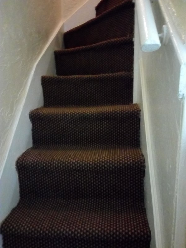 stairs to first floor flat