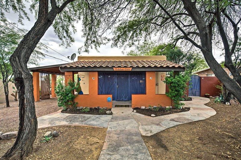 Experimente a 'Hidden Gem' de Tucson nesta casa excepcional de 1 cama e 1 banheiro!