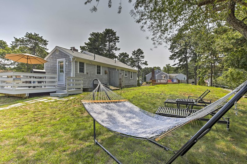 Escape to the Cape Cod coast and stay at this vacation rental home!