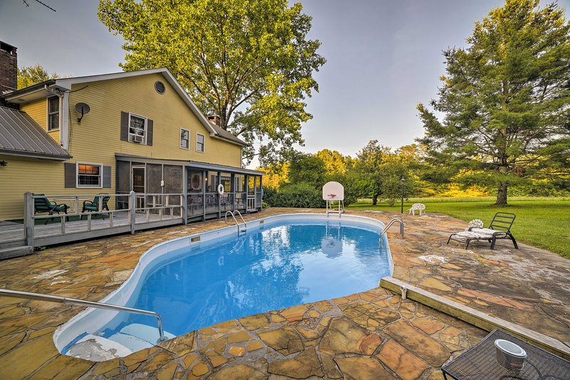 Réservez votre voyage dans le Tennessee dans cette grande location de vacances de 4 chambres et 2,5 salles de bains!