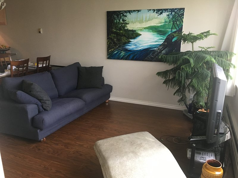 Sala de estar y sillón reclinable vintage