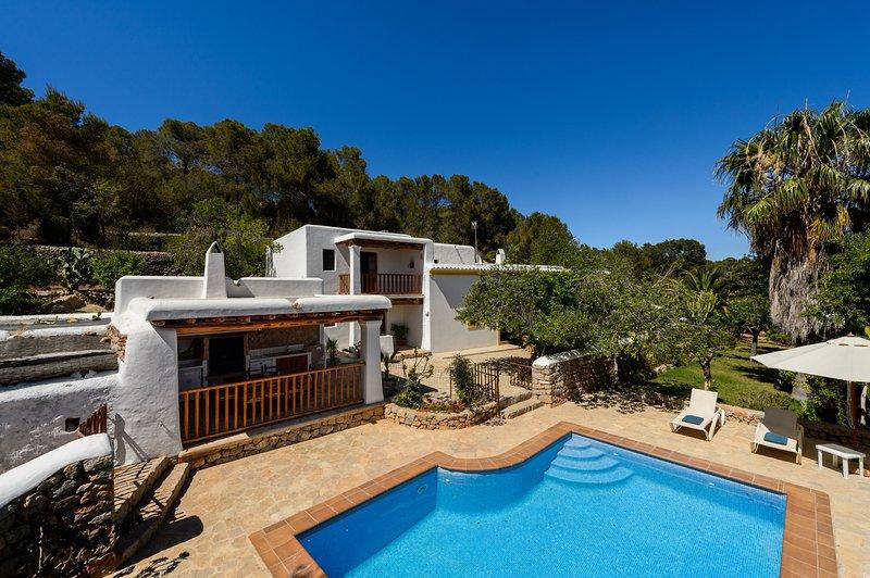 Can Miguel, Finca 5StarsHome Ibiza, holiday rental in San Lorenzo