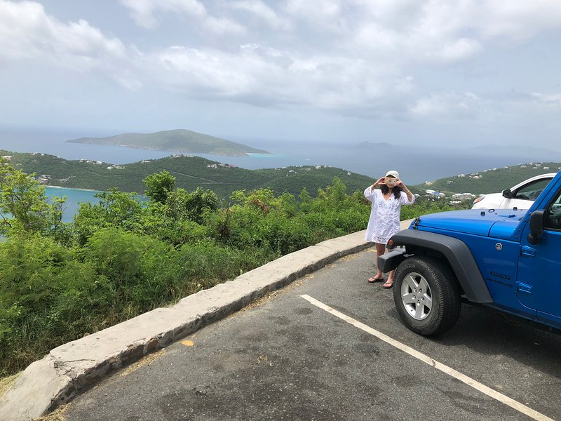 Vista in giro per l'isola