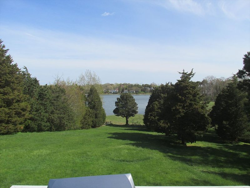 View of Meetinghouse Pond from deck