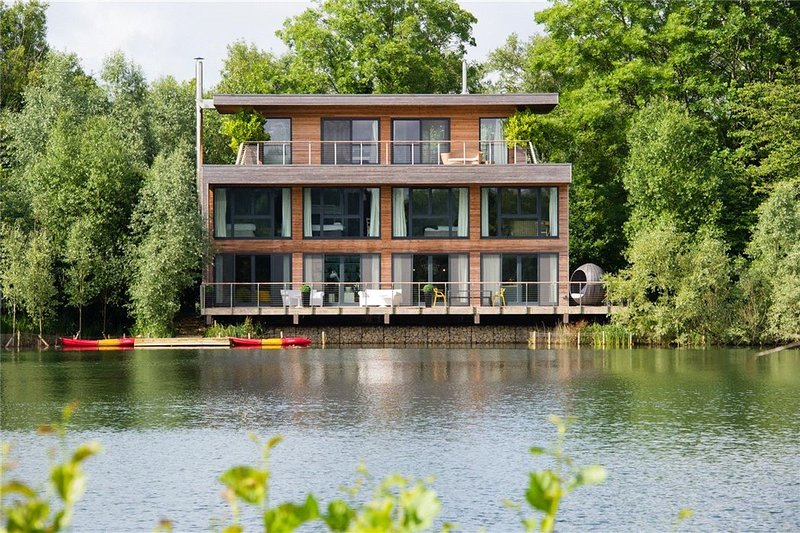 Stunning lakeside villa with waterside views from every bedroom.