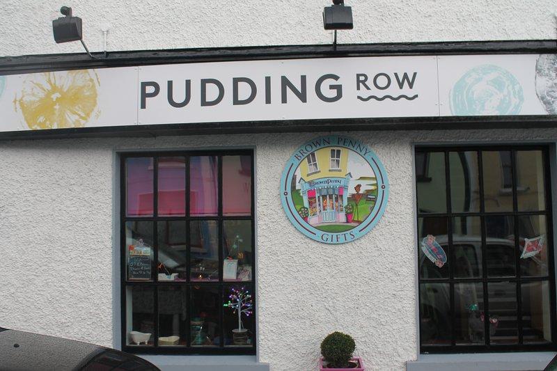 No te vayas sin cenar en Pudding Row