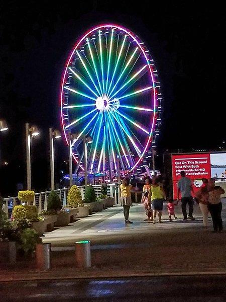 Capitol Wheel ride at National Harbor