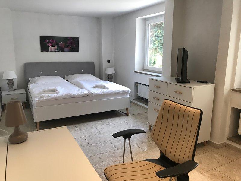 Apartment direkt an der Waldnaab EG, location de vacances à Waldthurn