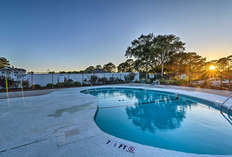 Enjoy access to a lovely community pool while staying at Villas on The Green.