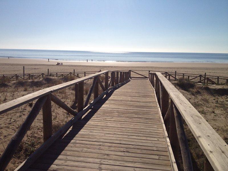 Ein weiterer Zugang zum Strand