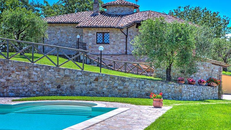 COLLE DEL SOLE 7+1, Emma Villas Exclusive, holiday rental in Montecastrilli