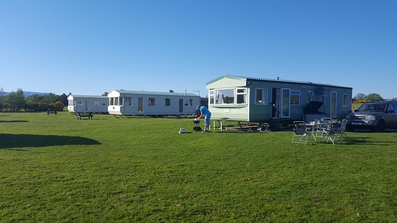 Holiday caravan/mobile home in Benderloch, near Oban, vacation rental in Connel