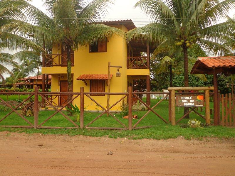 Chalé Sol da Barra, alquiler vacacional en Ilha de Boipeba