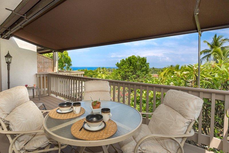 Keauhou Resort #111 - Lanai Patio Seating