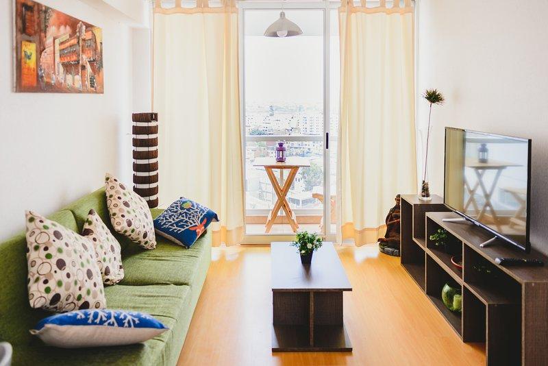 Apartamento Confortable en Barranco, aluguéis de temporada em Santiago de Surco