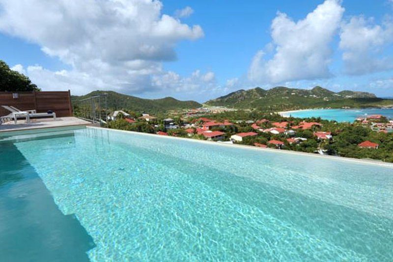 Villa Romana   Ocean View - Located in Beautiful Saint Jean with Private Pool, vacation rental in St. Jean