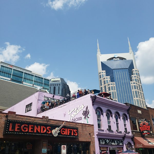 Vue de l'immeuble Batman de Broadway