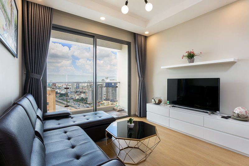 ★Luxury★ HCM City Center 2-bedroom apartment, Infinity Pool, Ferienwohnung in Ho-Chi-Minh-Stadt
