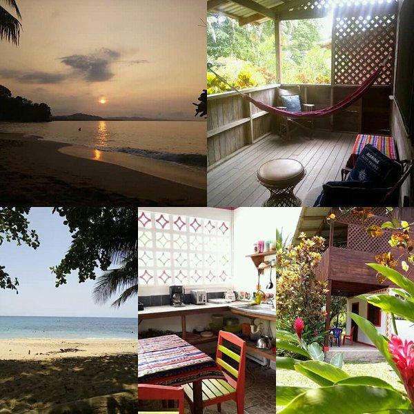 Casas totalmente equipadas en la costa caribeña a solo 30 pasos del mar