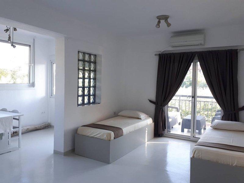 Villa Kappa Garden, vacation rental in Ormos Panagias