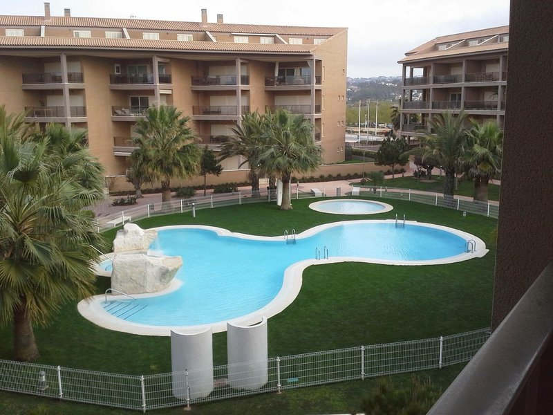 Arenal beach sea view, 2 bedroom apartment, holiday rental in Javea