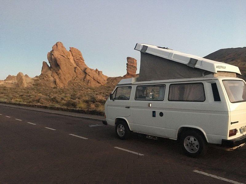 holidays in campervans, vacation rental in San Miguel de Tajao