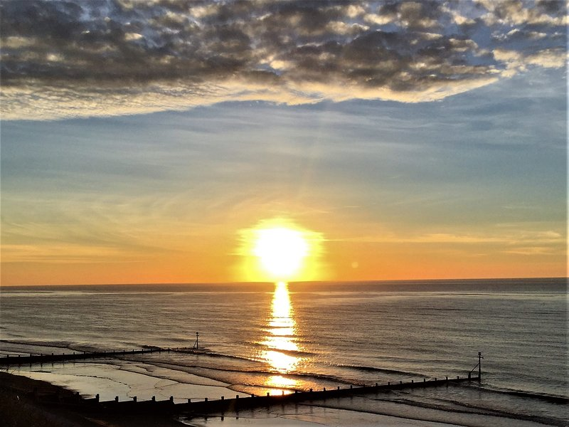 Sheringham sunset, a magical end to the day