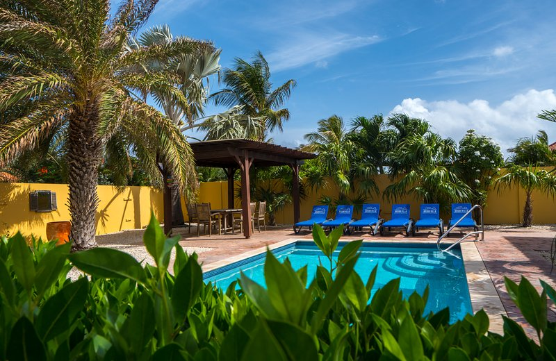 Luxury villa HopiBon with private pool, holiday rental in Noord