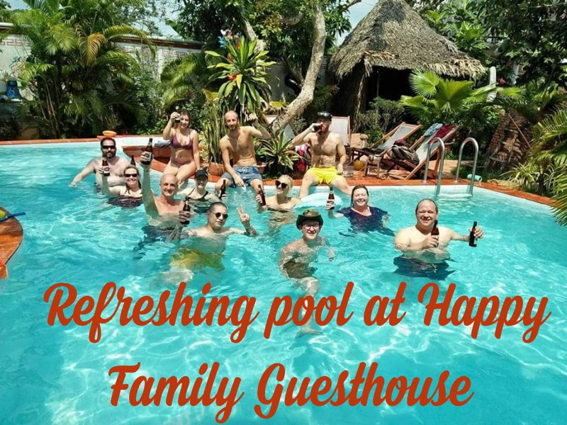 Happy Family Guesthouse Mekong Delta Swimming pool – semesterbostad i Chau Thanh
