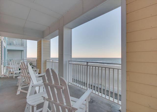 Spacious 3 Bedroom 2 Bath Beach Condo With Amazing Ocean Views