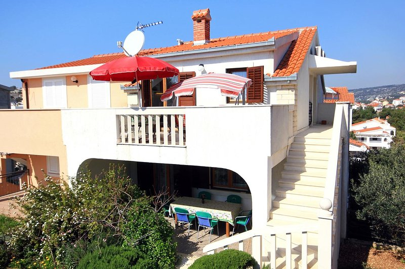 Two bedroom apartment Sevid, Trogir (A-9468-a), vacation rental in Sevid