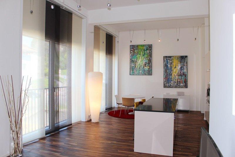 Superbe Loft Au Centre De Lausanne, aluguéis de temporada em Rue