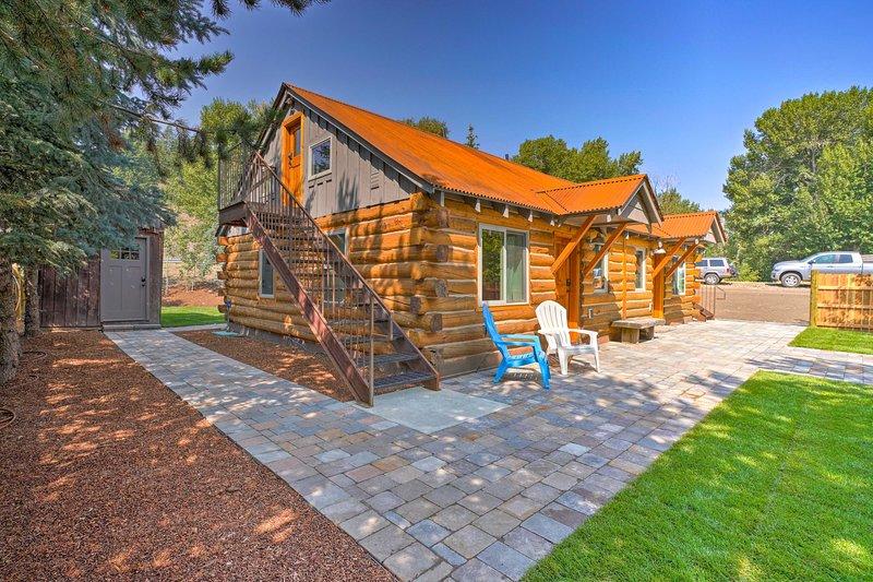 Ce chalet de location de vacances à Ketchum dispose de 2 chambres, 2 salles de bains et peut accueillir 6 personnes!