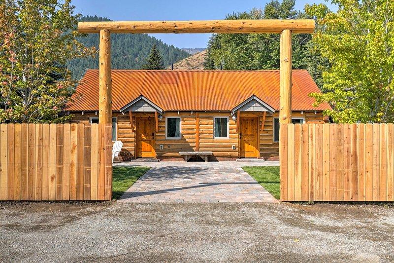 Une escapade inoubliable dans Sun Valley vous attend dans cette cabine confortable de Ketchum.