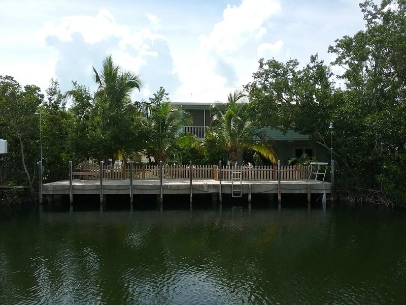 Private Canal Front home with 60' of dockage
