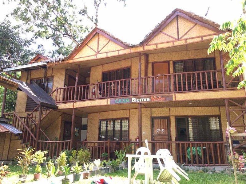Casa Bienvenida Port Barton: Room 5, alquiler vacacional en Port Barton