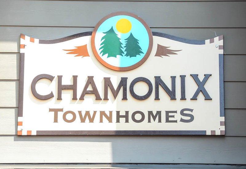 Chamonix #025            - Chamonix Welcome Sign